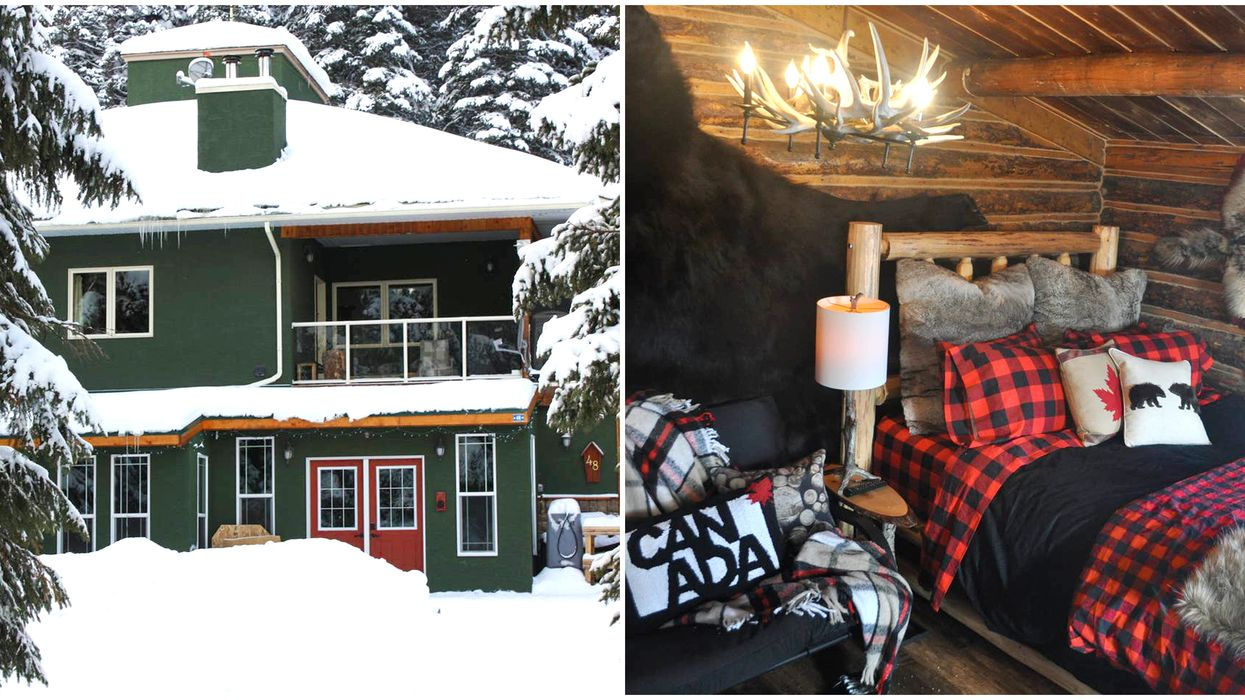 12 Cheap Cabin Rentals In Alberta For You & Your BFFs This Winter