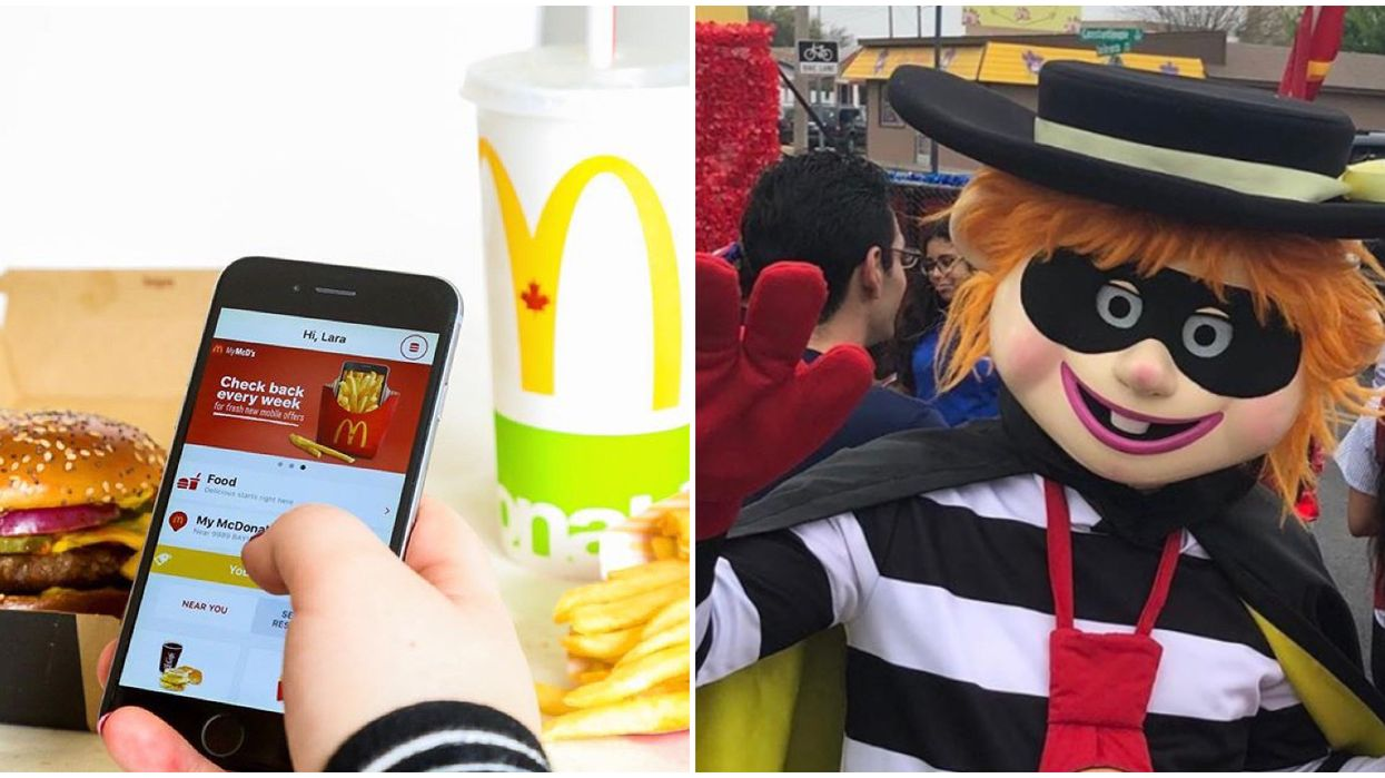 "McDonald's App Hacked In Canada By Some Real Life ""Hamburglars"""