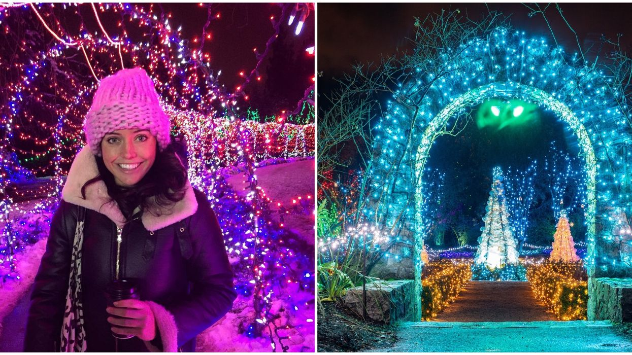 You Can Wander An Enchanting Garden With Millions Of Lights In Vancouver This Winter