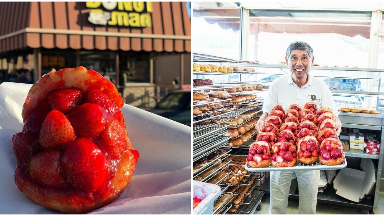The Donut Man Opens 2nd Location In Grand Central Market In LA After 47 Years