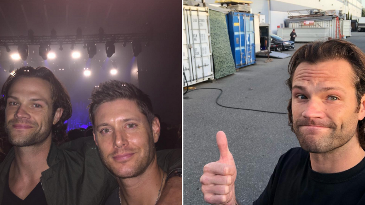 Supernatural Jared Padalecki Arrest