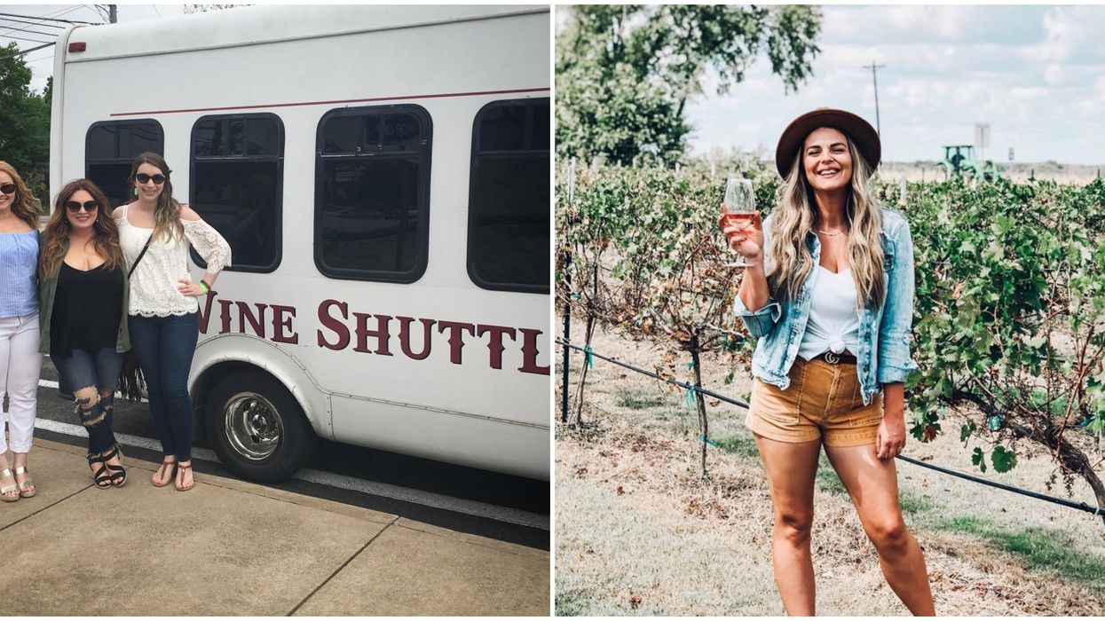 A Wine Shuttle In Fredericksburg Will Take You To 18 Vineyards And Wineries