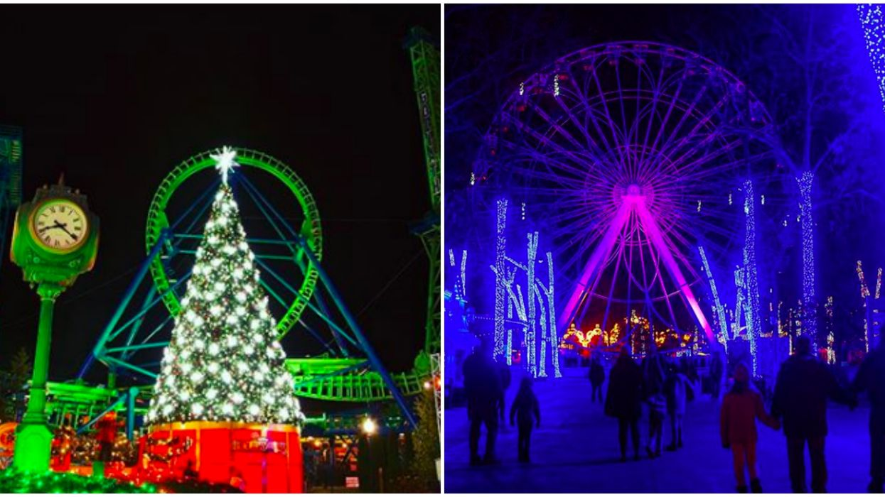 Six Flags Over Georgia Holiday In The Park Is Pure Christmas Magic