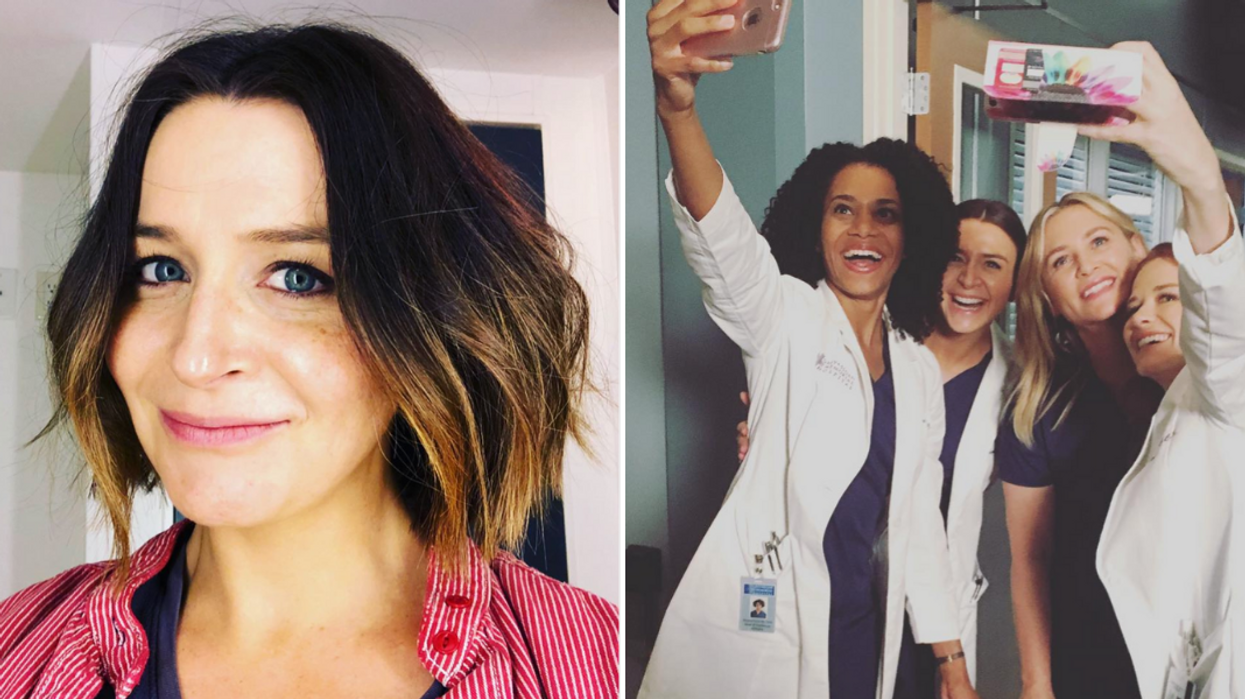 """Canadian """"Grey's Anatomy"""" Star Caterina Scorsone Is Pregnant & The Cast Is So Excited"""