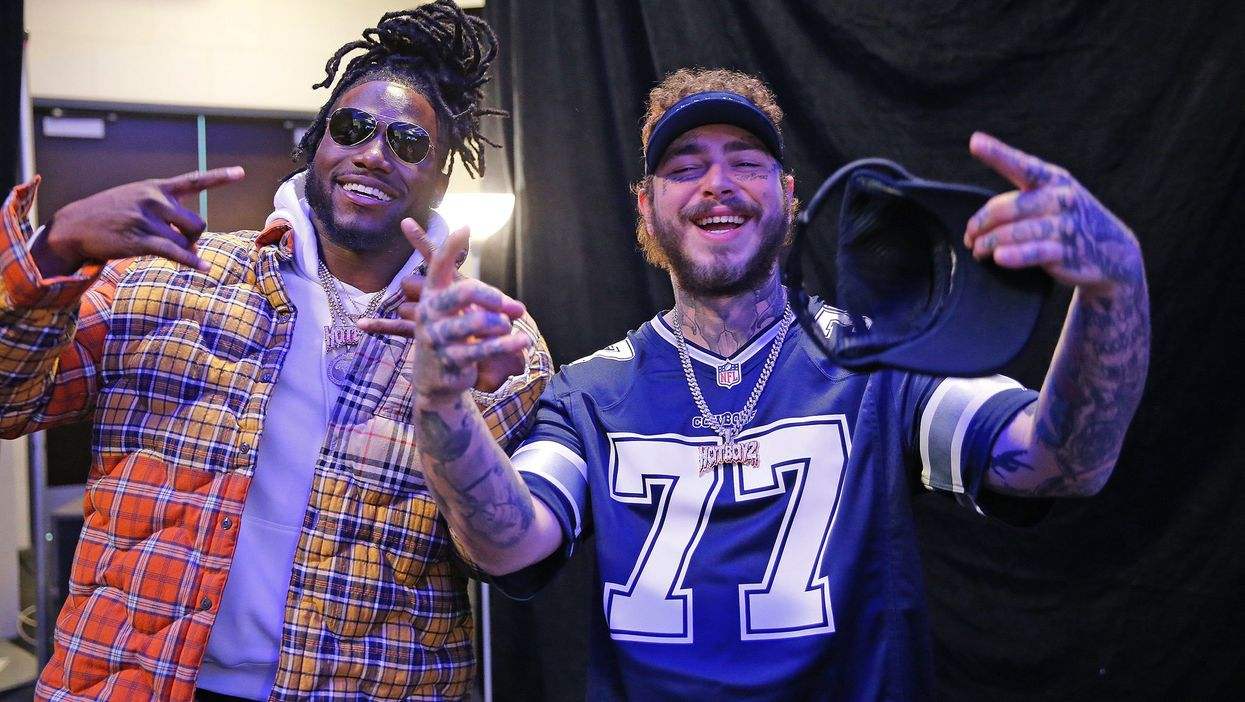 Dallas Cowboy Jaylon Smith Hung Out With Post Malone In Dallas