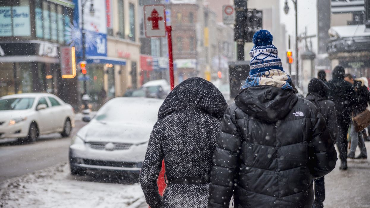 Montreal Will Get Hit With First Snow Of The Season This Week