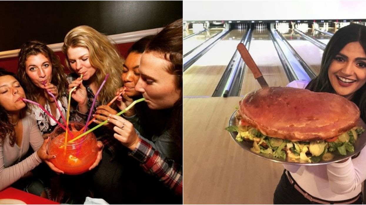 Bowlero In Miami Has Giant Eats And Drinks