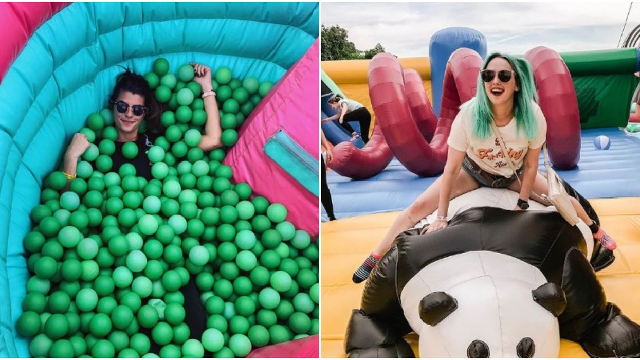 The Big Bounce America will be in Jacksonville this month