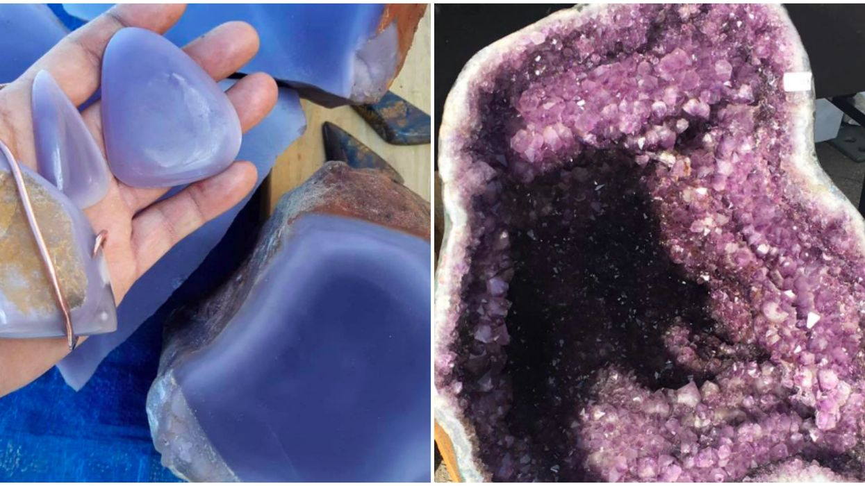 Georgia Gem Mining In Helen Offers Geodes, Crystals & Gold For Only $12