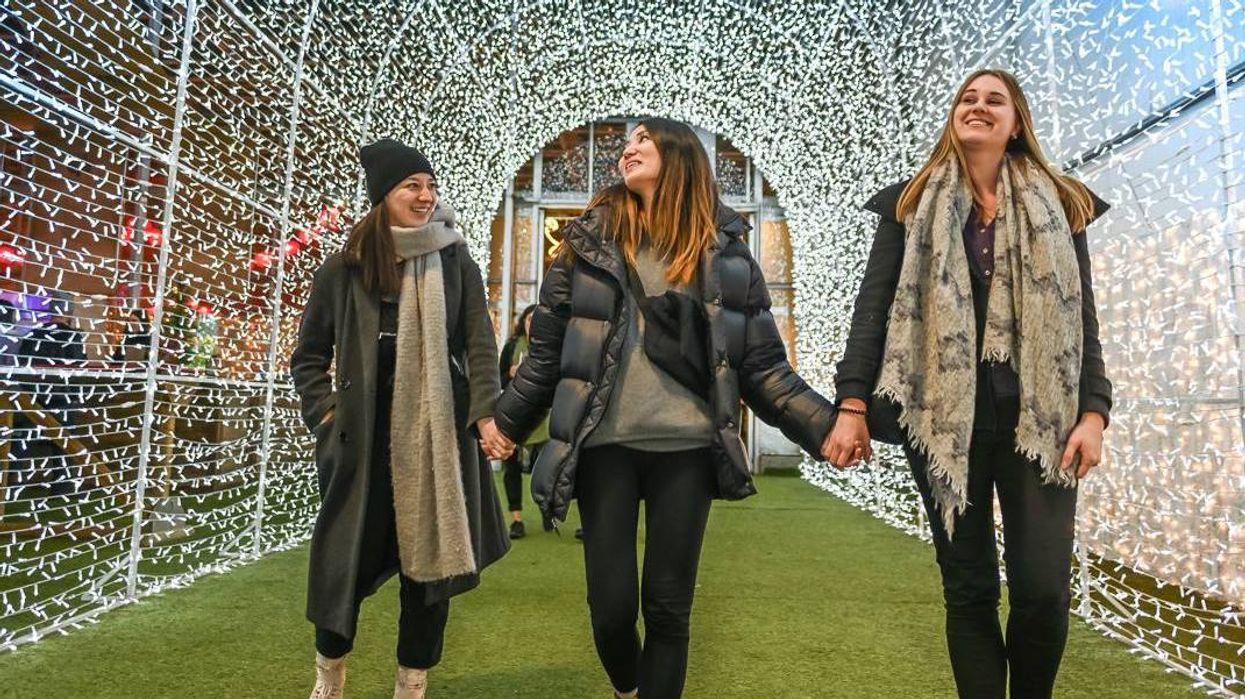 Saskatoon Glow Gardens Brings An Enchanting Christmas Tunnel With Over 50K Twinkling Lights