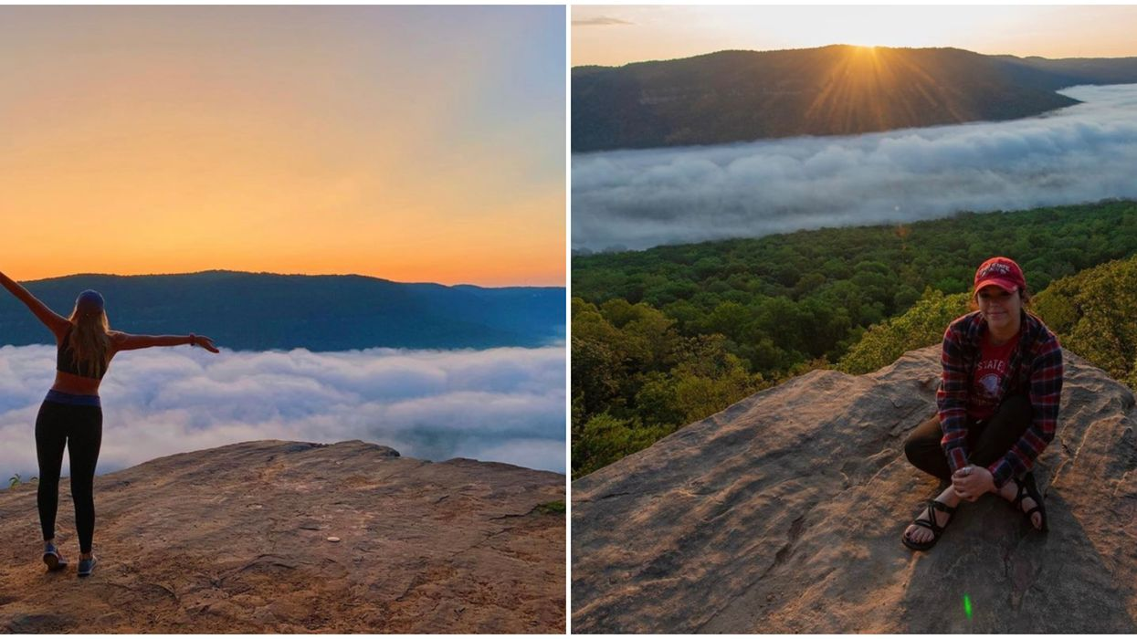 This Moderate Hike In Tennessee Leads To A Breathtaking View Among The Clouds