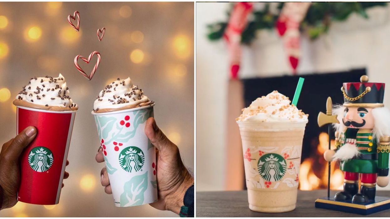 Starbucks Canada's 2019 Holiday Menu Has Just Been Unveiled