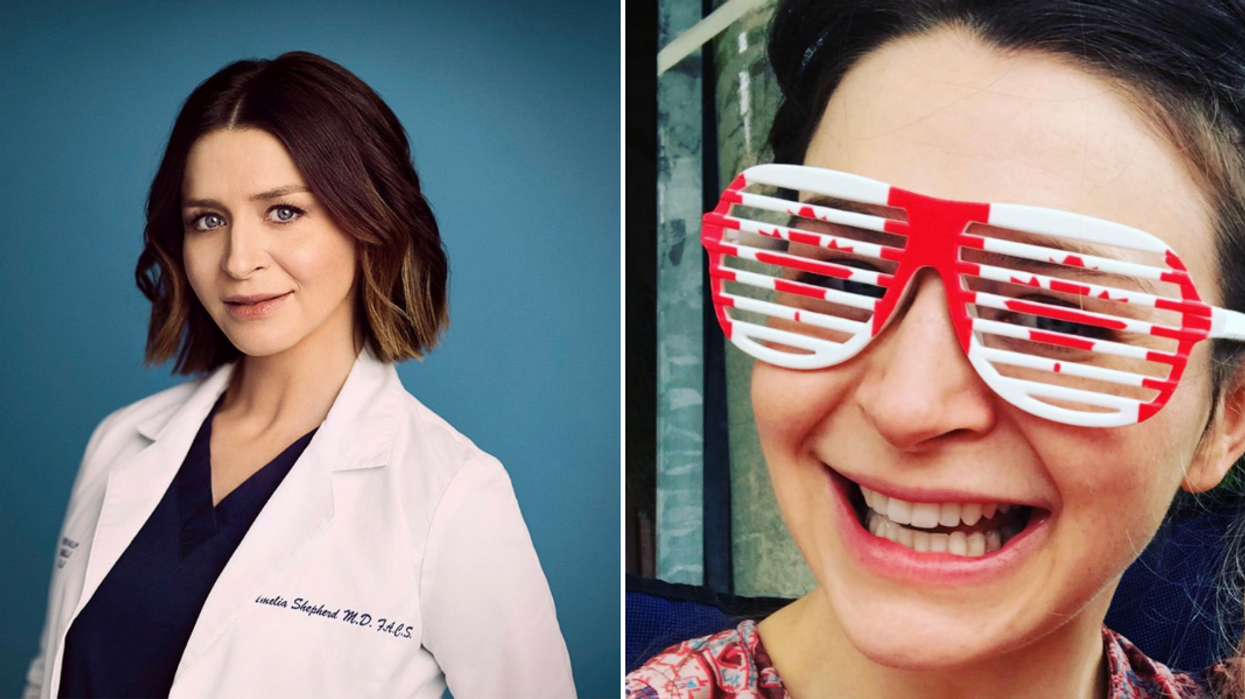 Grey's Anatomy Caterina Scorsone's Canadian