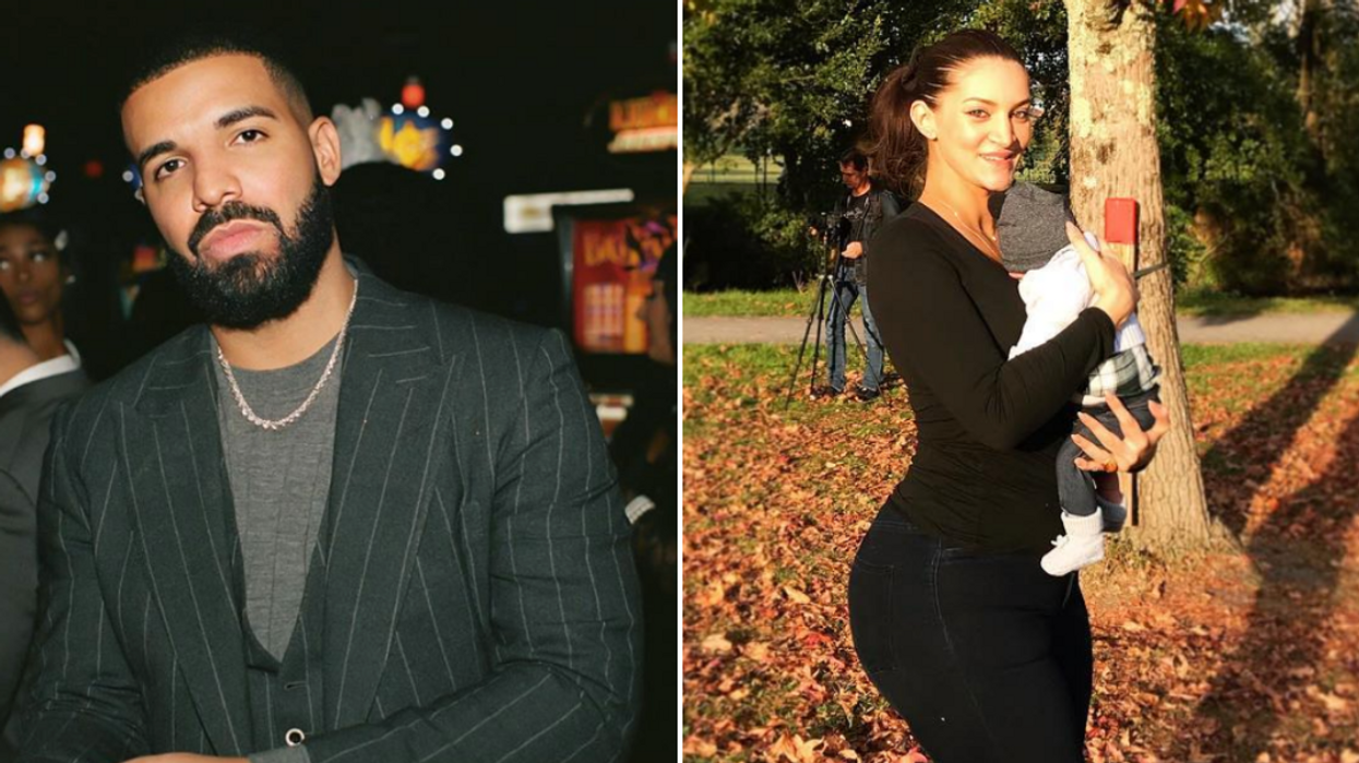 Drake's Son Adonis Photo Revealed