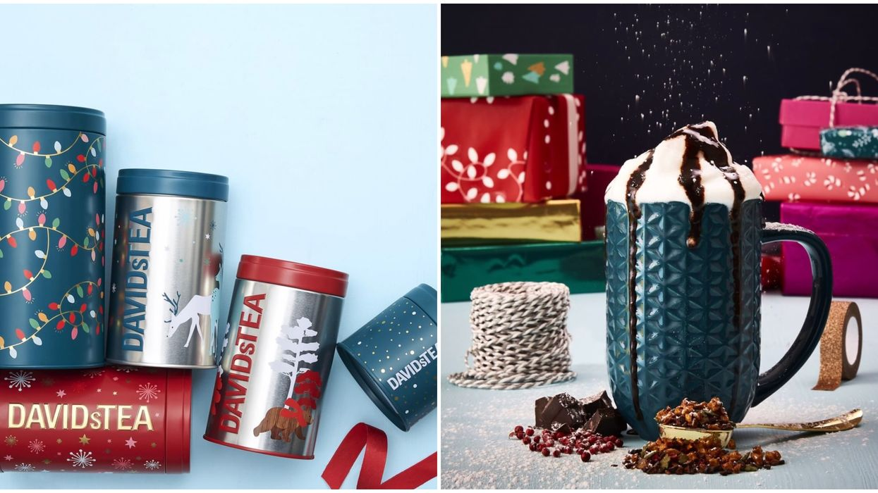 DAVIDsTEA Canada Just Unveiled Their Holiday Collection & It's All You'll Want This Season