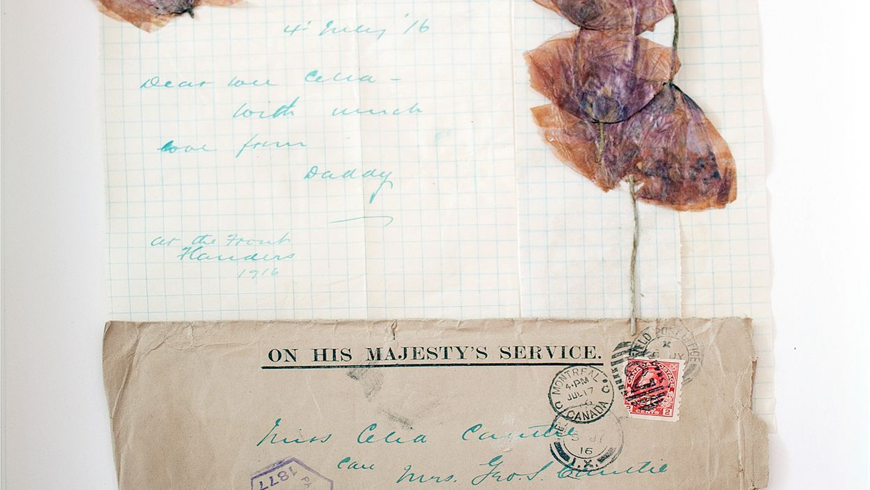Poppies From Flanders Fields During World War I Are Part Of An Art Exhibit Touring Canada