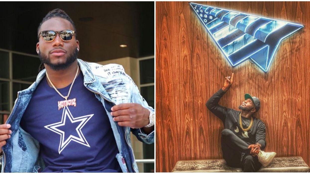 Jaylon Smith Celebrated Dez Bryant's Birthday During The Cowboys Game