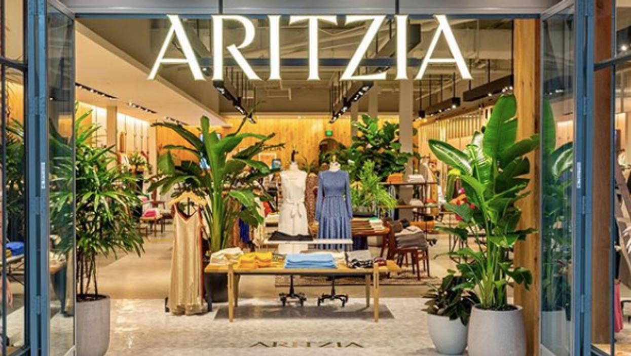 Aritzia fait une vente en ligne jusqu'à 75% de rabais cette semaine