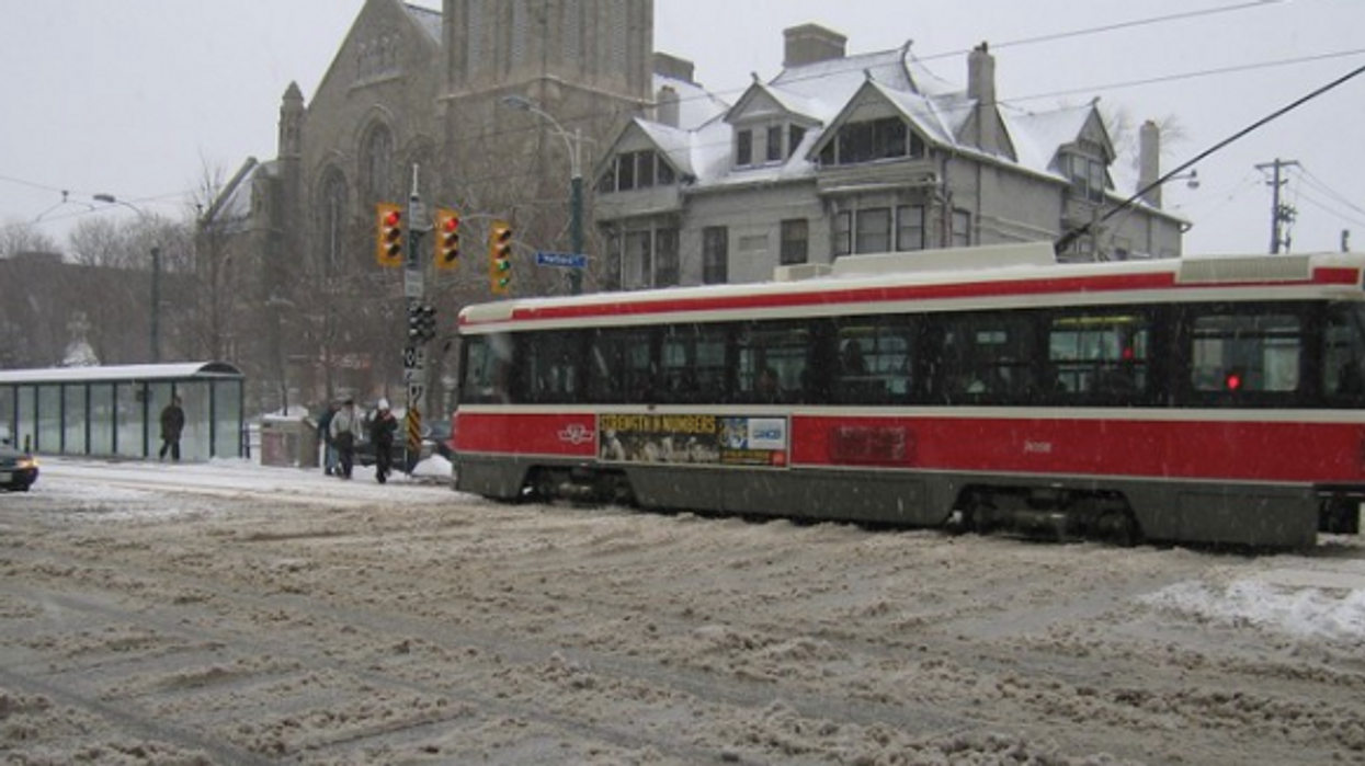 Toronto Will Get Up To 4cm Of Snowfall & Freezing Temperatures This Week