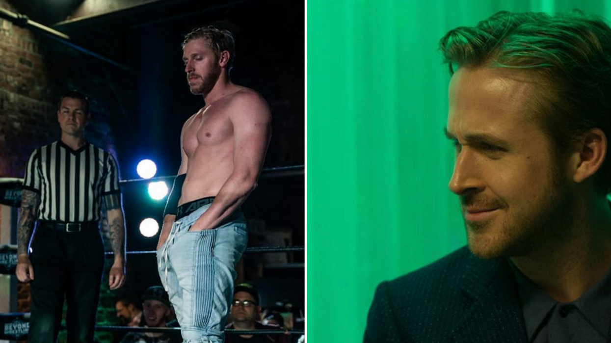 Wrestler Dresses Like Ryan Gosling For Match And It's Hilarious