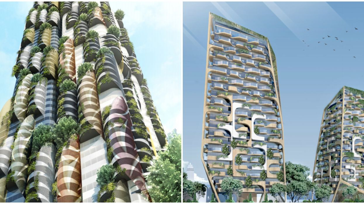Vancouver Green Towers Coming Soon Will Be Massive Tree-Covered Futuristic Buildings