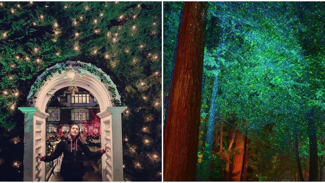 Christmas At Butchart Gardens Is One Of The Most Magical Sights In Victoria