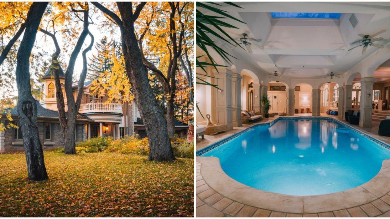 Cette maison de 3,3 M$ à Québec a une piscine digne des hôtels des plus luxueux