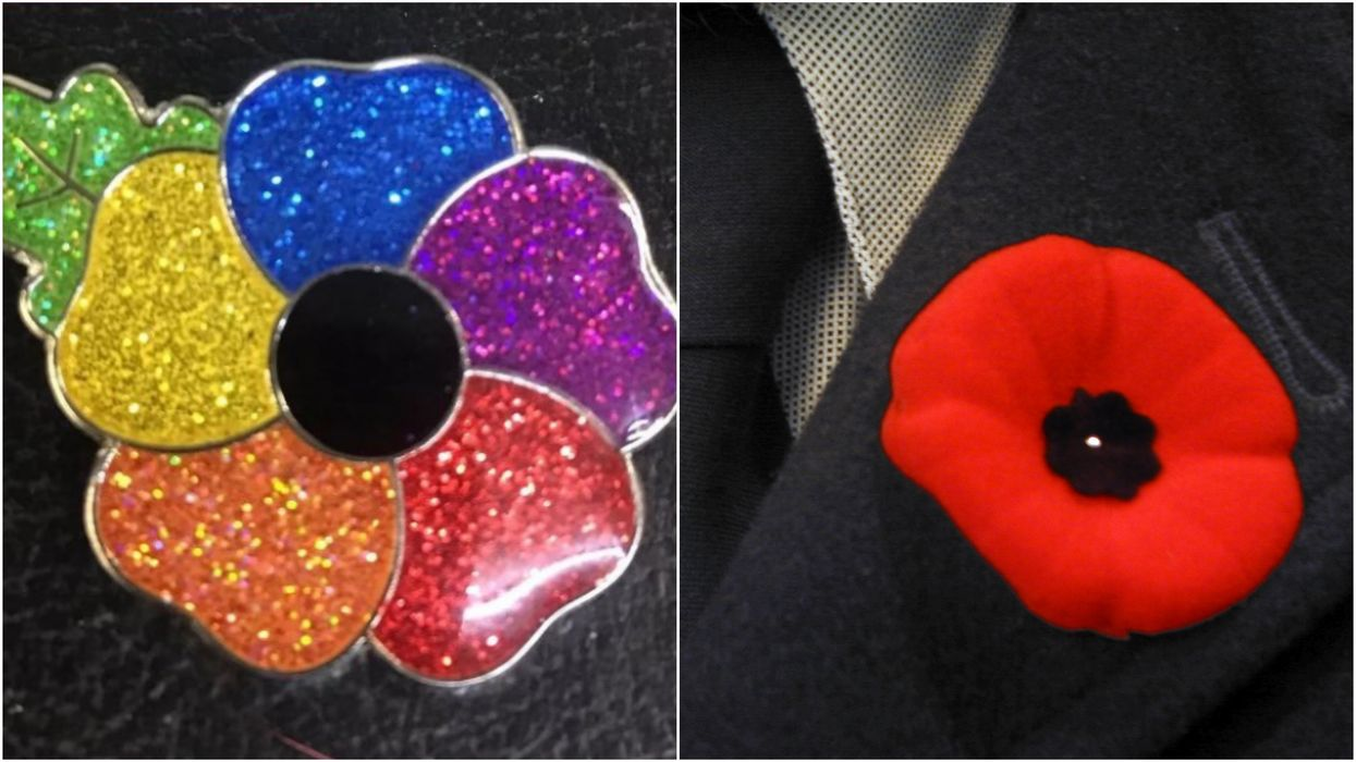 Rainbow Poppies In Canada Are Causing A Huge Online Outrage