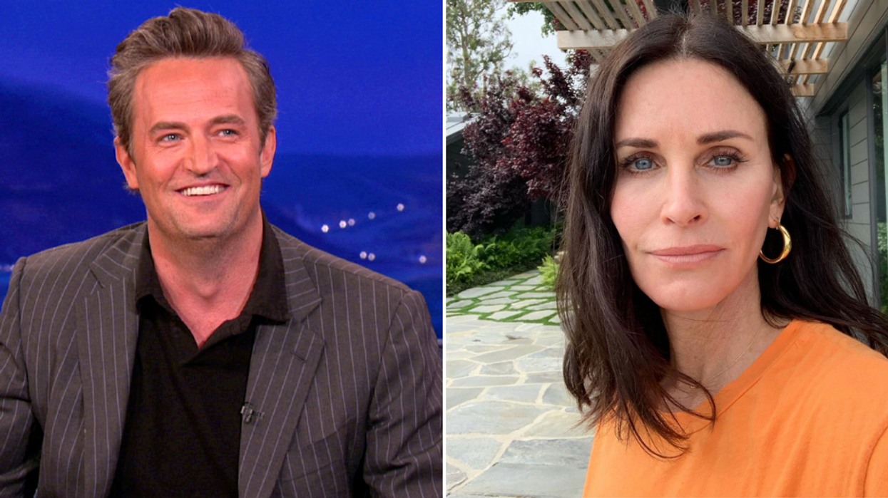 Courteney Cox And Matthew Perry Friends Reunion
