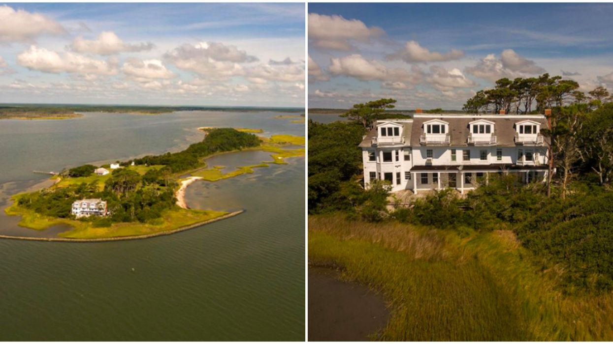 This Private Island In North Carolina Is For Sale For $1 Million