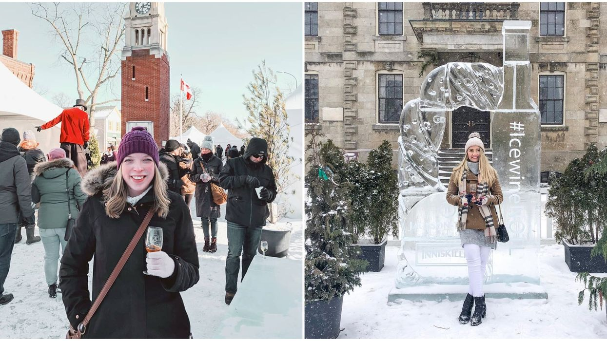 Niagara Icewine Festival Will Be The Chillest Thing You'll Do All Winter