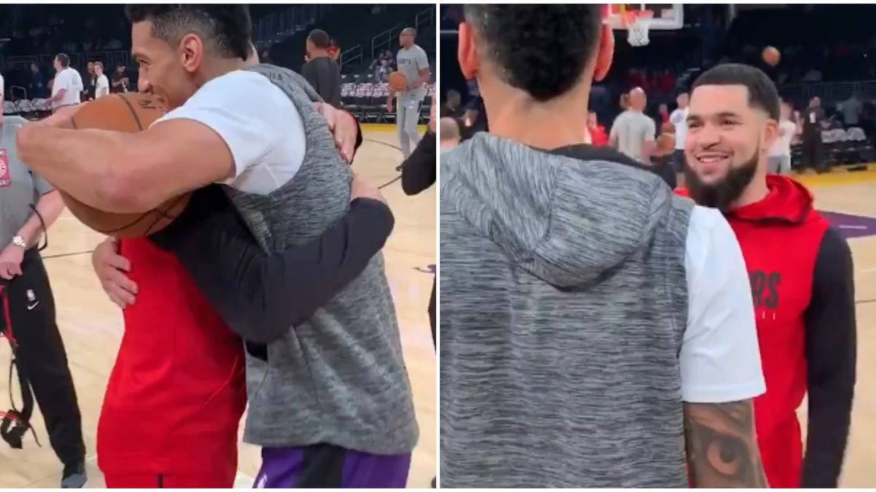 Toronto Raptors & Danny Green Reunion Had Fans Super Emotional