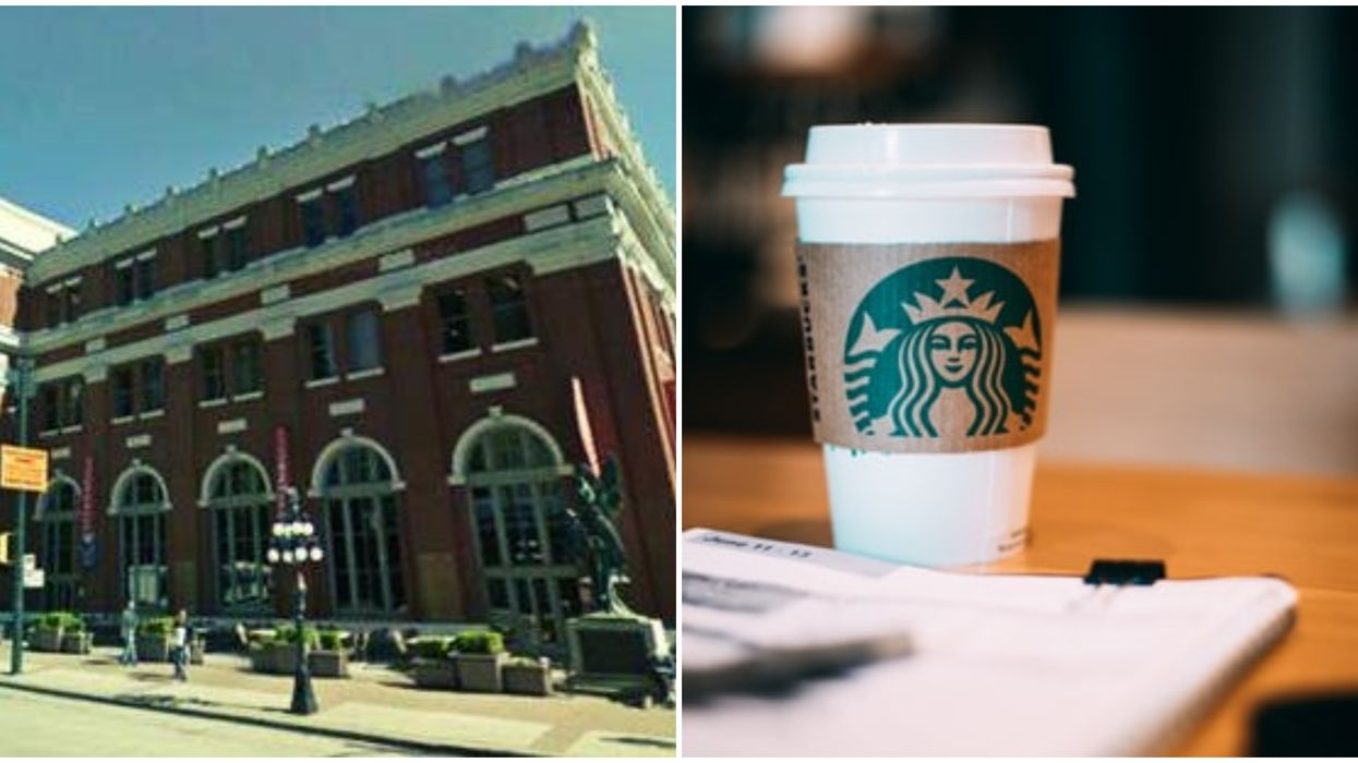 First Starbucks In Canada Was The Coffee Chain's First-Ever International Location