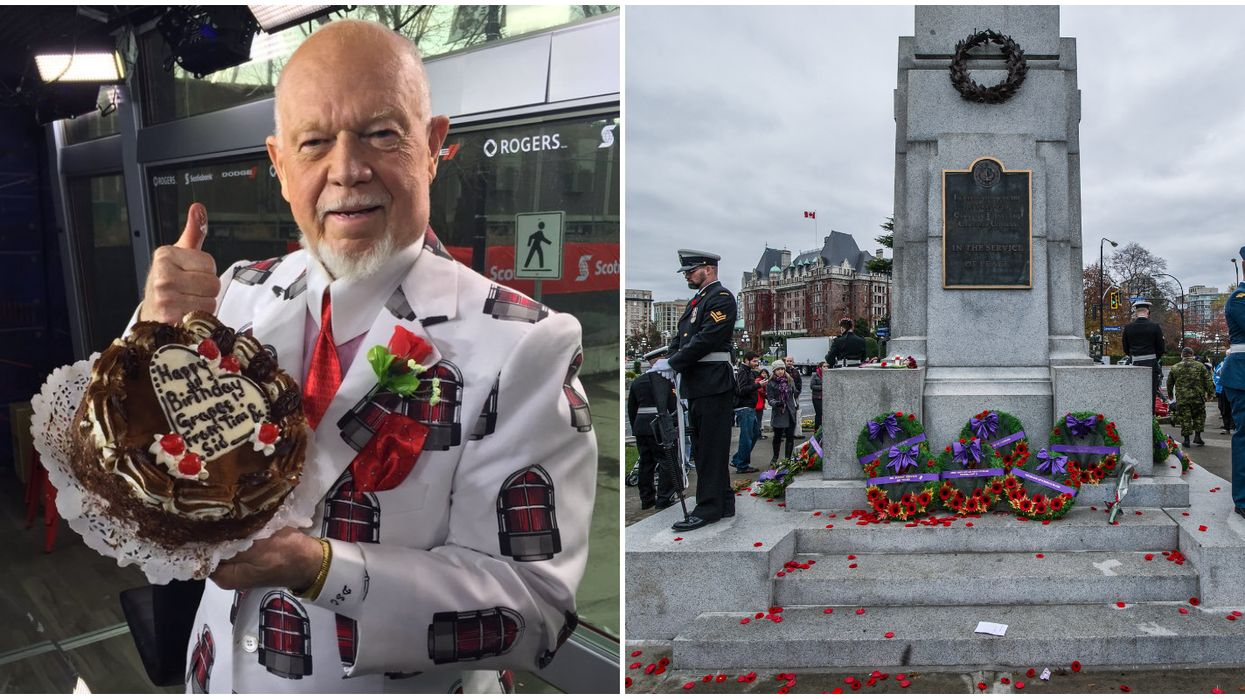Don Cherry's Hockey Night In Canada Remembrance Day Comments Gets Twitter Backlash