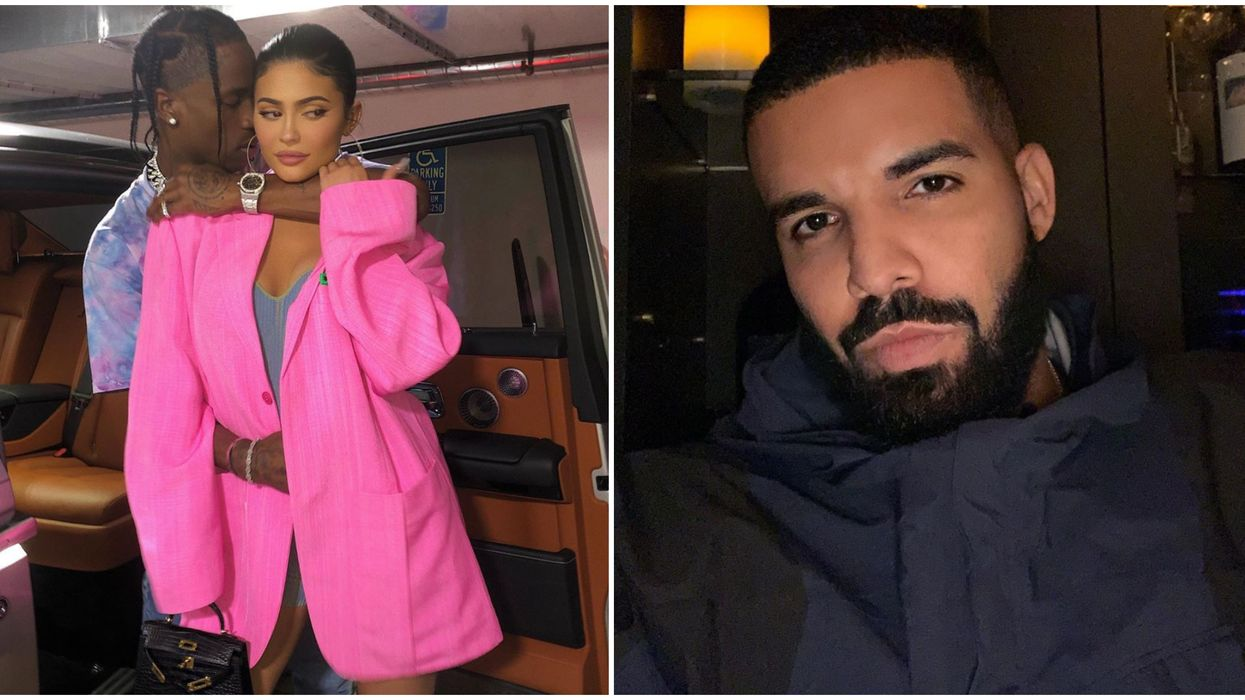 Kylie Jenner & Drake's Dating Rumours Could Be Put To Rest After Travis Scott's IG Post
