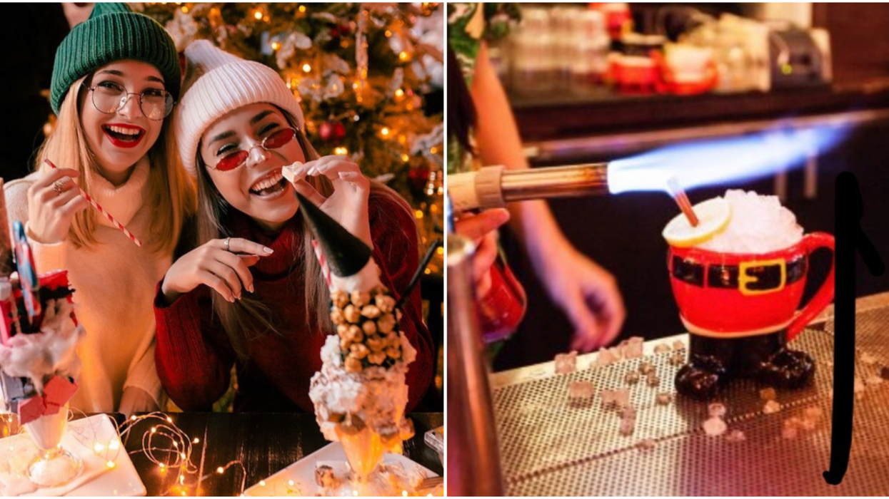 Santas Tavern In Houston Is Opening This November With Christmas Drinks