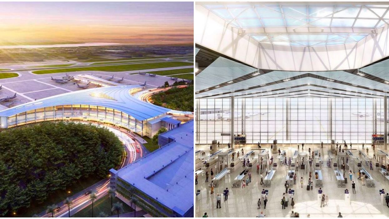 Louis Armstrong New Orleans International Airport Is All-New & Amazing