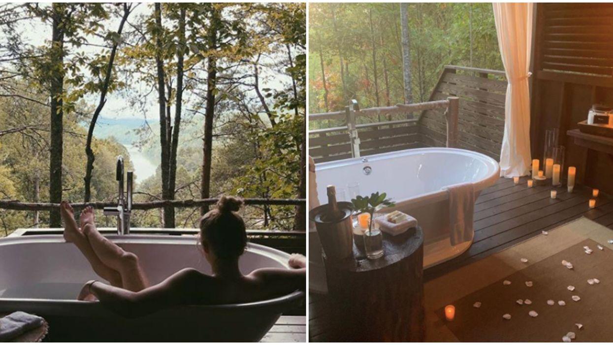 This North Carolina Inn & Spa Has An Outdoor Bathtub With Amazing Views
