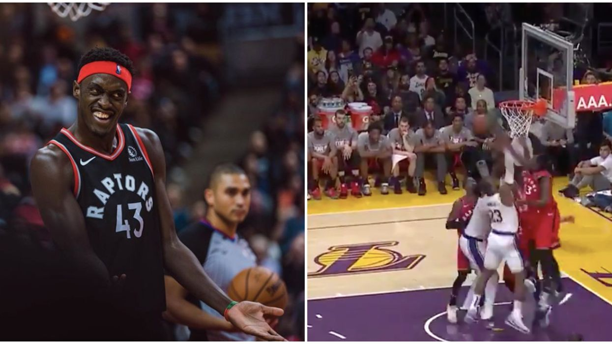 Pascal Siakam-LeBron James Block Rocked NBA Fans' World