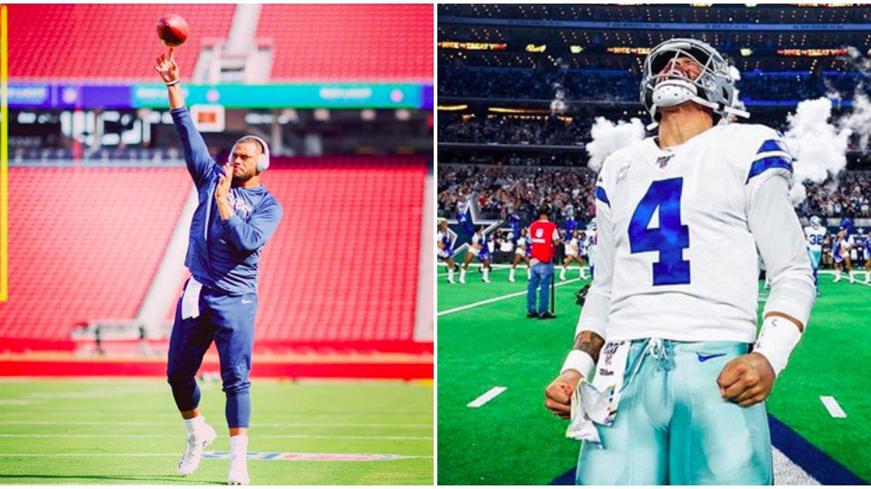 Dallas Cowboy's  Dak Prescott Can Really Dance To Anything