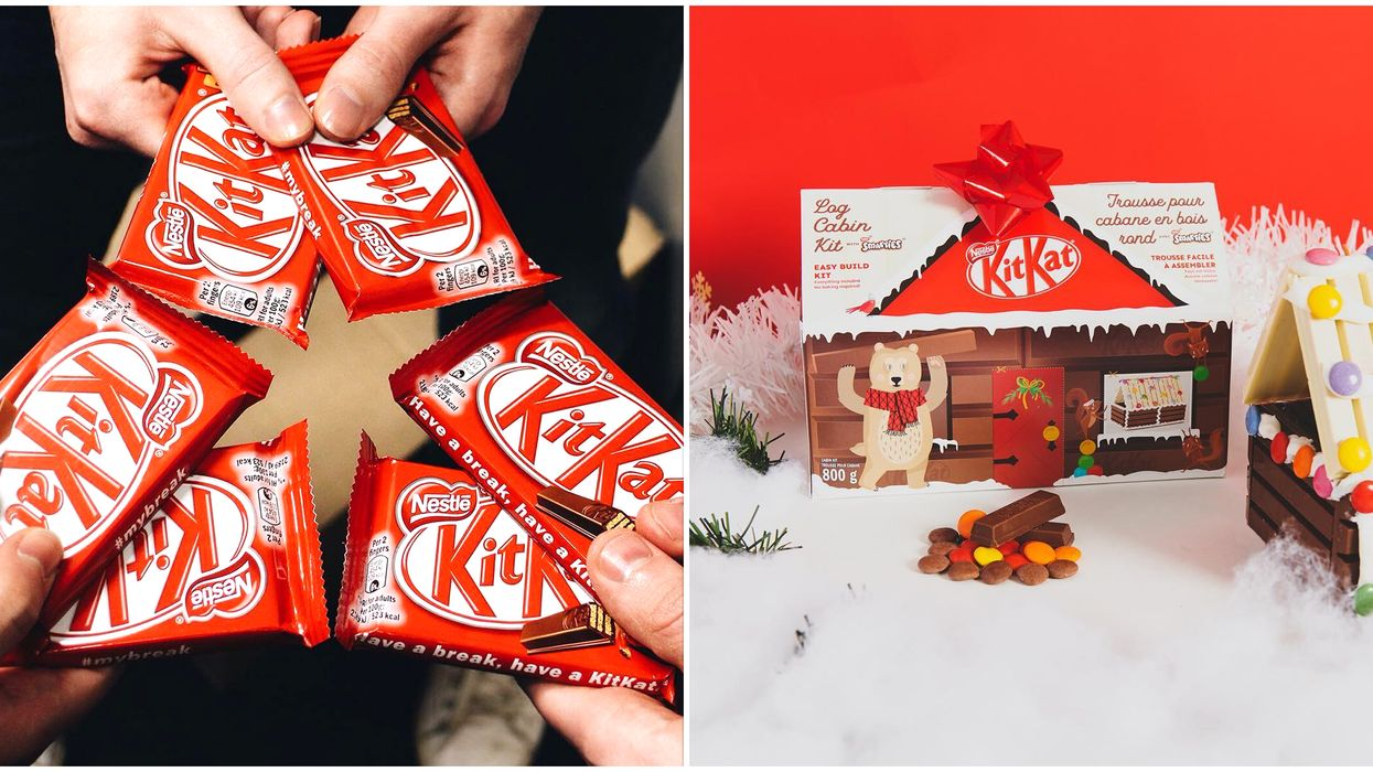 Kit Kat Log Cabin Kit In Canada Is Just Perfect For The Holiday Season