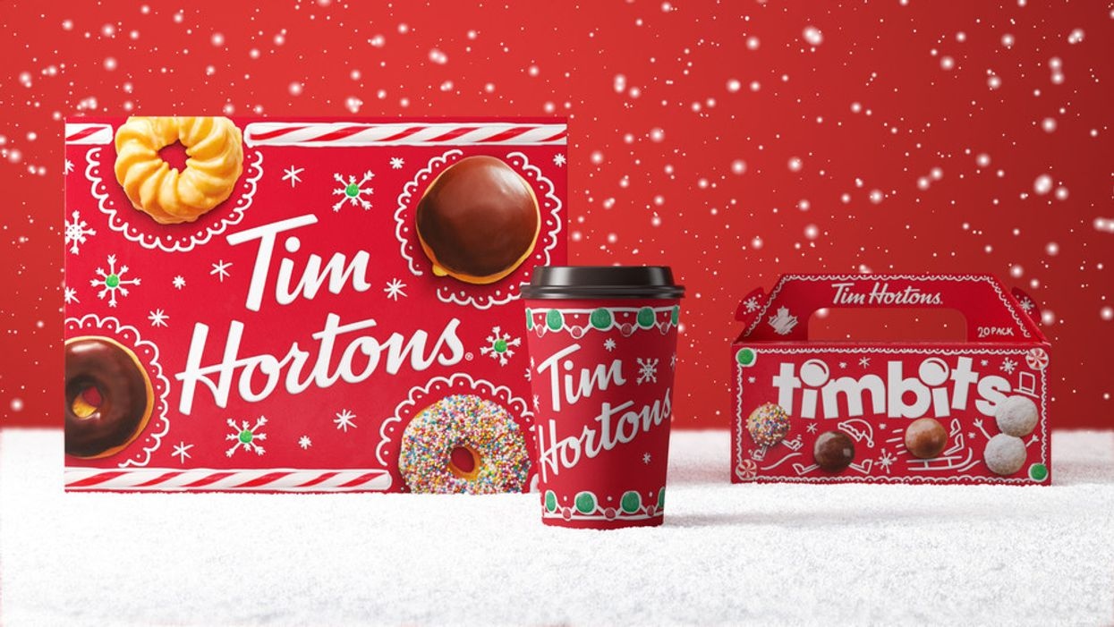 Tim Hortons' Holiday Menu Is Finally Here