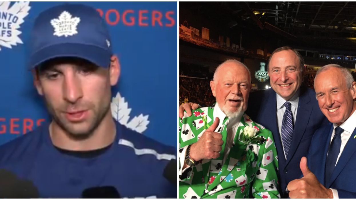 """Don Cherry Comments Branded """"Unacceptable"""" By Toronto Maple Leafs Players"""