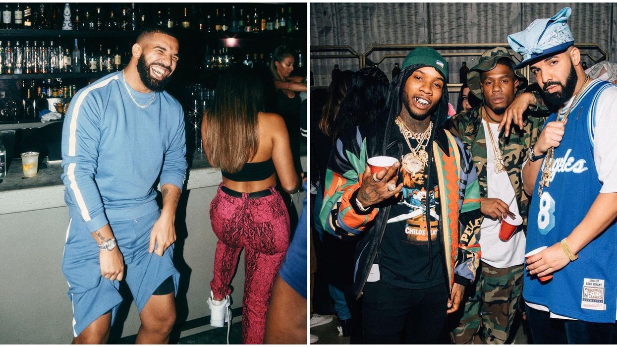 Calgary's Drake Party Will Make You Feel Like You're Partying With Champagne Papi