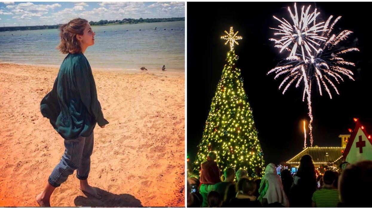 This Hidden Beach Near Dallas Is Having A Free Christmas Beach Party This December