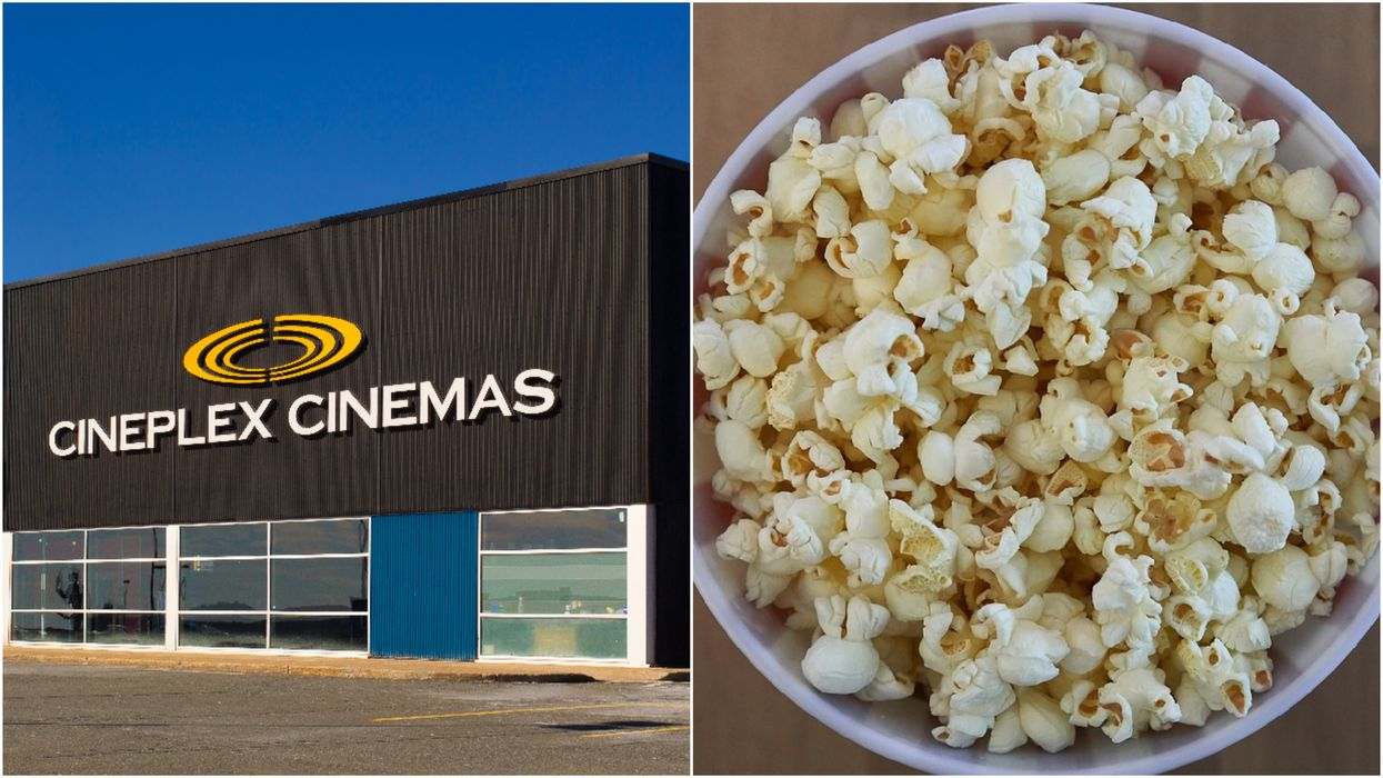 You Can Get Free Movies & Snacks If You Buy A $50 Cineplex Gift Card This Year