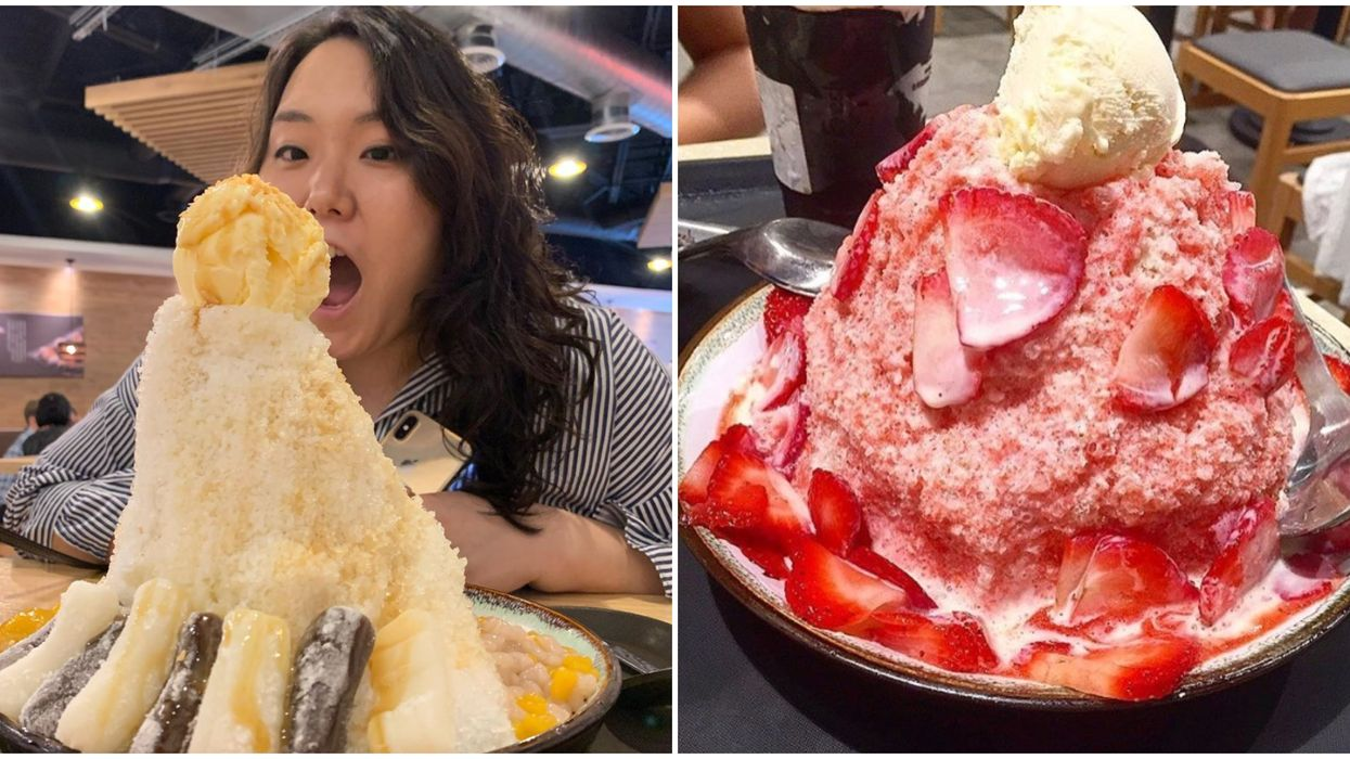 Taiwanese Shaved Ice In Atlanta Comes Out As A Mountain Of Ice At This Dessert Spot