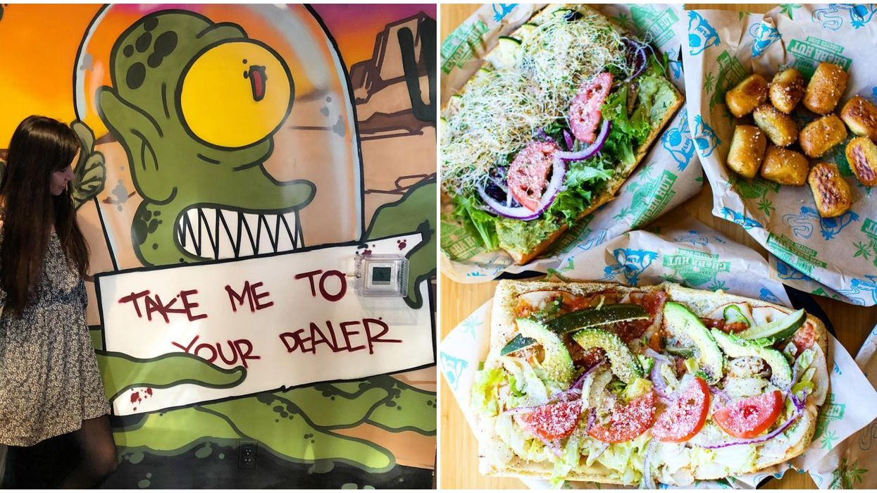 This Sandwich Joint In Las Vegas Has A Menu Of Stoner Themed Foods