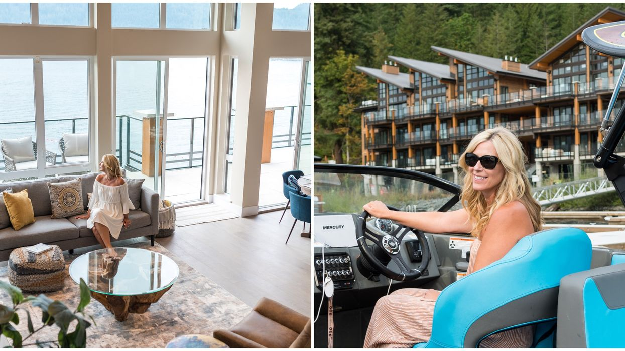 B.C. Lakefront Penthouse Comes With A Free Boat (PHOTOS)