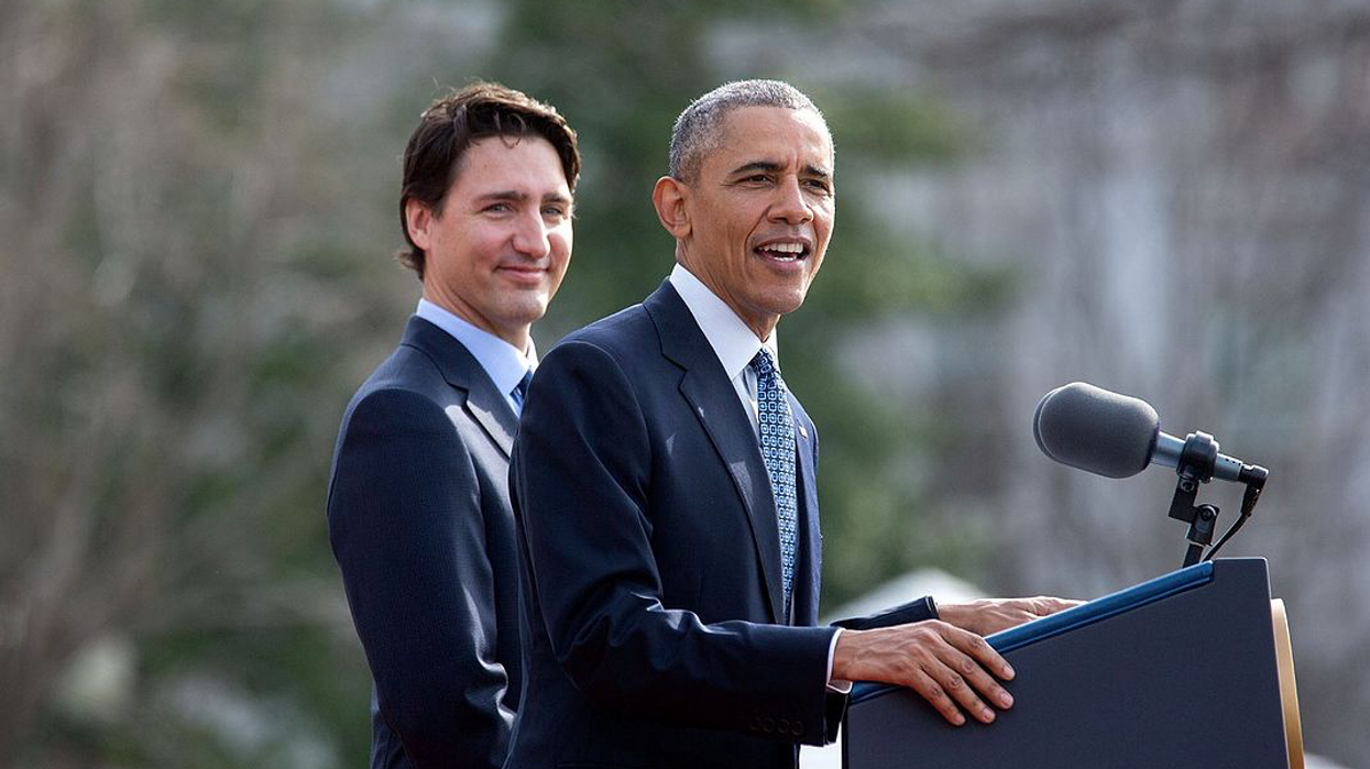 Barack Obama & Justin Trudeau's Bromance Is Still Going Strong Post-Election